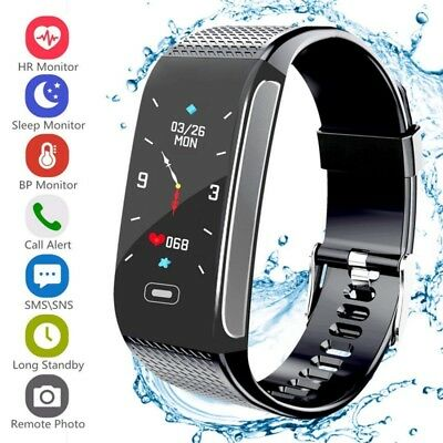 Smart Bracelet Wristband Watch Fitness-Tracker Blood Pressure Heart Rate Monitor
