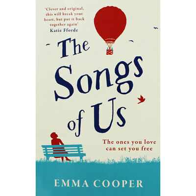 The Songs of Us by Emma Cooper (Paperback), Valentines, Brand New