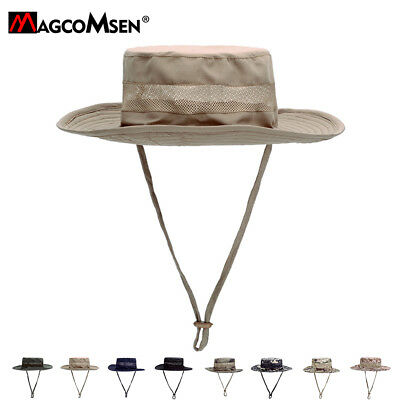Breathable Tactical Sniper Hats Army Camouflage Boonie Military Fish Hunting Cap