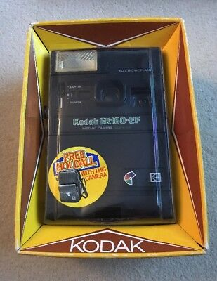 Boxed Kodak EK160-EF Instant Camera - Good Condition