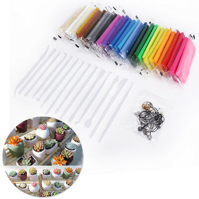 24 30 40 Colour Oven Bake Polymer Clay Block Modelling Moulding Sculpey Tool set
