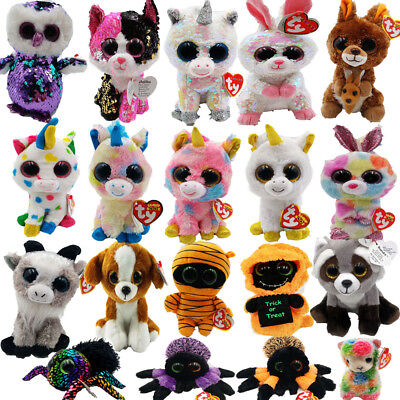 2d527f80c86 Ty Beanie Boo Boos + Choose Your Favourite Soft Plush Kids Toy - 6