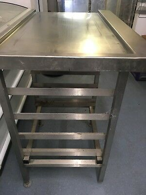 Commercial Dishwasher Table