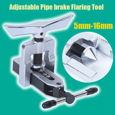 1PC Universal Adjustable Pipe brake Flaring Tool Kit 5-16mm or 3/16 - 5/8in New