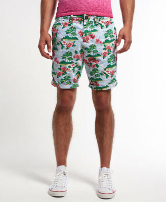 Short chino International Pour homme Hibiscus