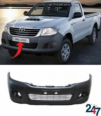 New Toyota Hilux 2012-2016 Front Bumper With Center Lower Grill 2Wd 52119-0K980