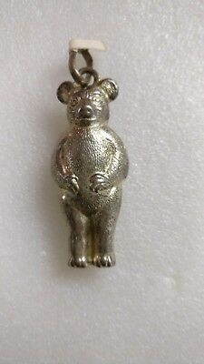 Antique Teddy Bear Rattle (v)