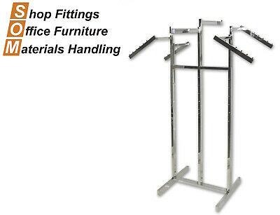 6-Way Rack Clothing Display Stand