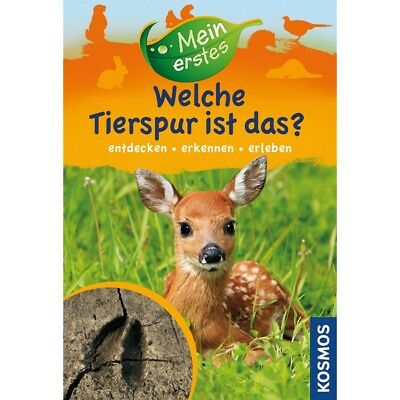 Cosmos Book Mein Erstes Which One Animal Trace Ist Das? Naturbuch for Kids Age 7