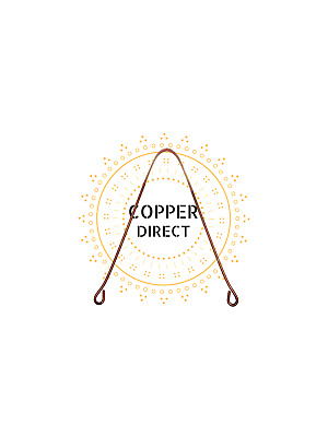 Pure Copper Tongue Cleaner with Ayurvedic Health Benefits