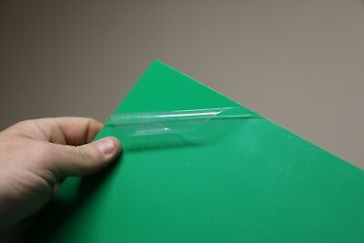 1mm (40 Thou) A4 Plasticard Green Gloss one side Styrene HIPS Plastic Sheet