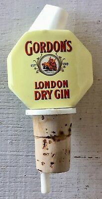 GORDON'S London dry gin vintage bottle top COLLECTORS ITEM