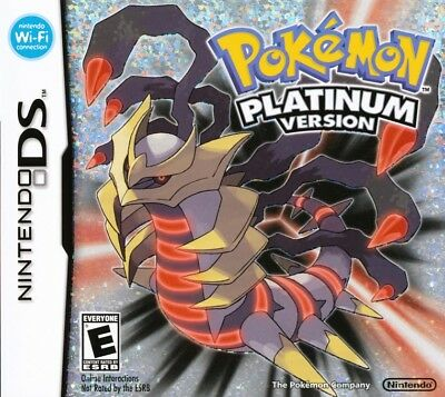 Pokemon -- Platinum Version (Nintendo DS, 2009)