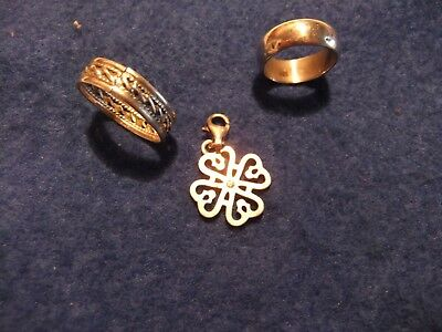 Metal Detecting Finds  Three Silver Items