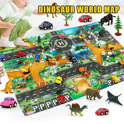 Kids Rug Play Mat Cushion Soft Carpet for Educational Car Road Traffic City Life