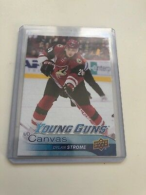 2016 - 17 - UD Serie 2 - Dylan Strome - Young Guns Canvas