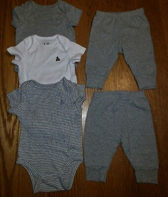 BabyGAP Baby Boy First Favorites Lot Of 5 Size 3-6 Months EEUC