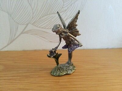 Collectable Pewter ? Fairy Ornament.