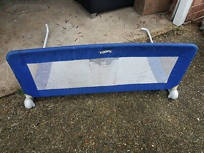 Tomy Safety Toddler Bed Guard Rail Blue