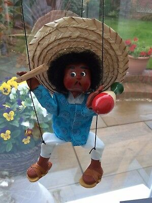 Mexican Figure String Puppet