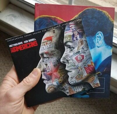 FX The Americans Seasons 3 & 4 Emmy Promo DVD's
