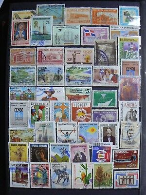 Collection Of Dominican Republic Stamps
