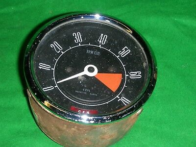 1x FORD CORTINA MKII 1600E REV COUNTER 69 BB 17360 B-A ALL WORKED WHEN REMOVED