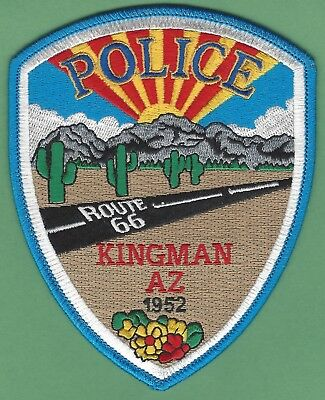 Kingman Arizona Police Patch Route 66