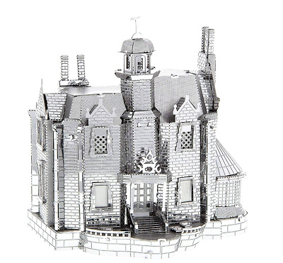 Disney Park Authentic✿Metal Earth Model 3D Kit✿Haunted Mansion Facade Attraction