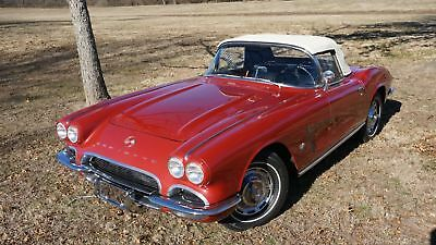 1962 Chevrolet Corvette Roadster 327/340Hp 4 Speed 2 Tops New Tires & Paint Private Collection Make Offer