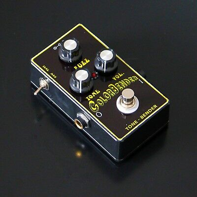 Tonebender guitar fuzz pedal with mods based on colorsound ( big muff face )