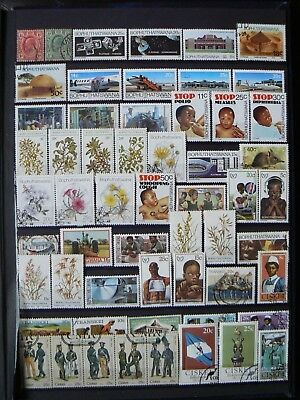 Collection Of Transvaal/bophuthatswana/transkei/ciskei Stamps