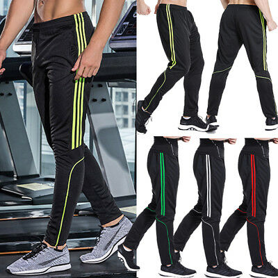 UK Mens Tracksuit Bottoms Gym Sports Pants Jogging Joggers Running Trousers C133