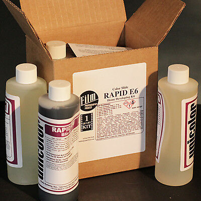 FPP E6 COLOR SLIDE EKTACHROME DEVELOPMENT KIT (1 Quart)