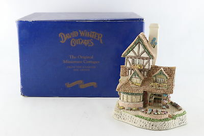 David Winter Cottages Collectors Guild 'The Flower Shop' 1995 Figurine With Box