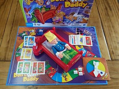 TRU Don't Wake Daddy Board Game 99.9 Complete missing only Stand TESTED WORKS