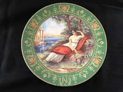 D'Arceau Limoges Collector Plate Series Napoleon and Joesphine