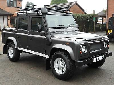 2005/05 Land Rover Defender 110 2.5 Td5 County Dbl Cab Pick Up Only 50K Miles!!!