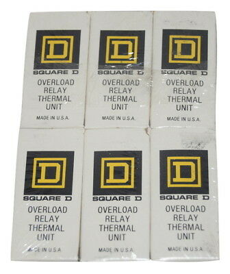 Square D A.59 Overload Relay Thermal Unit - Pack Of 6 Sealed