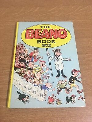 Beano Annual 1972 In Very Good Condition