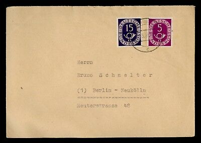 Dr Who 1953 Germany ? To Berlin C68828