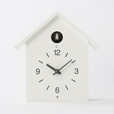 MUJI Cuckoo Clock [White - Large size]  Ships from JAPAN