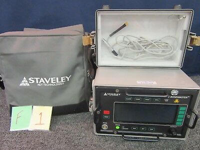 Staveley Sonic Tester Bondmaster Ndt Ultrasonic Set Eddy Current Probe Military