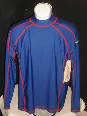 NWT ACTIVSKINZ RASH Guard BY SUN PROTECTION ZONE Sz M Adult