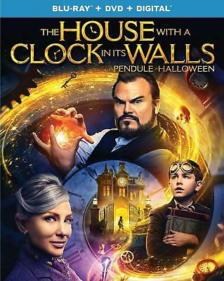 The House With A Clock In Its Walls Blu-Ray+DVD+Digital New (STEF-317 / STEF-16)