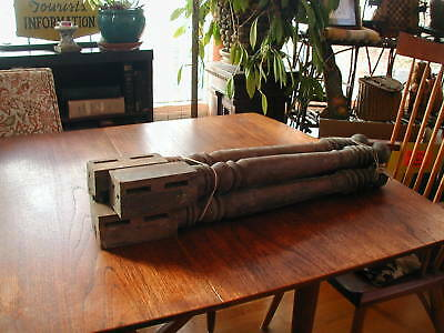 4  Wooden Table Legs Antique Vintage Architectural Salvage Farmhouse Repurpose
