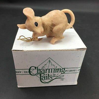 Dean Griff Silvestri Charming Tails Ornament HANG IN THERE 87/941