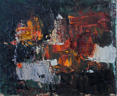 Original Modern Contemporary Expressionism Oil Painting Abstract Landscape