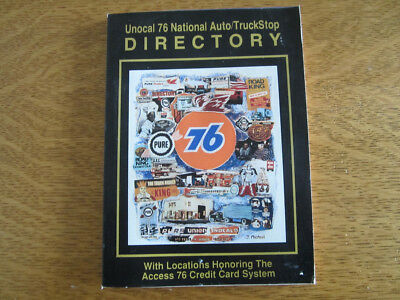 Vintage Union 76 Auto/Truckstop Directory - Free Shipping