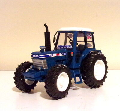Britains Ford Tractor Conversion 9700 Great Display Model In Original Box